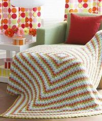 The 60s Mod Throw is the best vintage crochet pattern of its decade. Nothing beats its checkerboard pattern that only uses basic crochet stitches. | AllFreeCrochetAfghanPatterns.com