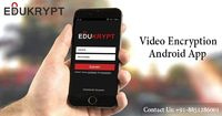 Video Encryption Android App is an easy to use and it is the best android app which protect your privacy and secure your data. It is the first encrypted android app developed in India by Edukrypt. You can get unlimited lectures on this app and download th...