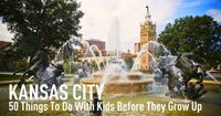 50 Things to do with Kids the Kansas City Area Before They Grow Up...adults too! We've done most but it's nice to have a list.
