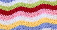 Baby Blanket Crochet Pattern (Rainbow Chevron Blanket)