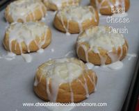 Easy Cheese Danishes-so simple to make and so delicious! I'm sure I've mentioned my middle child a few times before. She's the picky eater. The one that doesn't