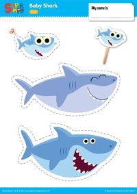 Baby Shark Play Set | Super Simple
