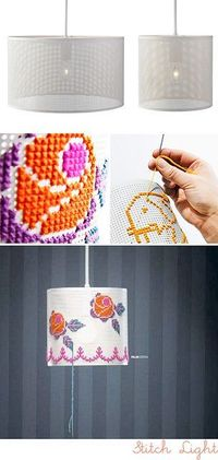 The Stitch Pendant ~ The idea behind Stitch is that you can make your own design by hand, so it's a little bit DIY rolled into a fantastic pendant light. You can watch a video of a few people making their own design here on YouTube to get a better i...