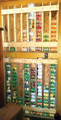 Build a Vertical Storage Rack for Cans