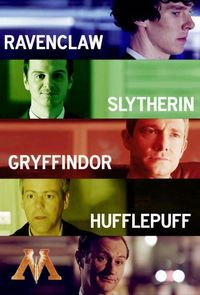I kind of love that Mycroft is just the ministry of magic