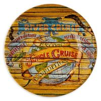 Disney Parks Attraction Poster Plate - Jungle Cruise - 7''