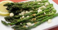 Make and share this Roasted Asparagus with Feta recipe from Food.com.