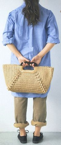 crochet bag - diagram