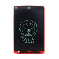 CHUYI 10 Inch LCD Writing Tablet Rough Handwriting Digital Drawing Tablet Electronic Handwriting Pad Message Board Slim Kids Writing Boards with Stylus