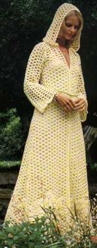 mindoncoffee: Long Hooded Coat. Click the photo for the pattern