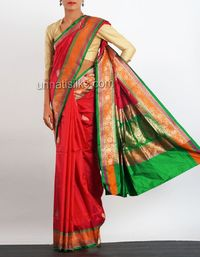 online shopping for banarasi silk sarees are available at www.unnatisilks.com