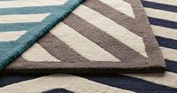Charing Cross Rug: 100% wool. Made in India. Available in 3 sizes and 3 colors. #Rug #Charing Cross Rug