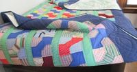 The Literate Quilter: The 2015 Annual Quilt Walk in West Branch, MI: Art Quilts and Old Quilts