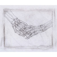 "RING, 8x6"" Original Signed art Rare sketch drawing by Alex Dakos $50.00"