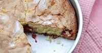 raspberry sour cream cake by Food Blogga, via Flickr