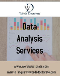 Data analysis services are the best way to prepare your data analysis and ease in preparing your PhD research. The PhD students who are constantly looking for data analysis helpcan get unique service from experienced professionals from us. We are a team o...