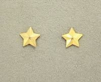 14 Karat Gold or Nickel Plated Magnetic Clip Non Pierced Star Earrings $20.00 Designed by LauraWilson.com