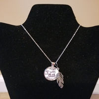 Scripture and Charm Necklaces with matching earrings, Set 2 $10.00