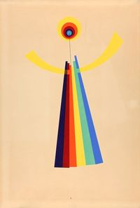 """Between 1916 and 1917, the artist and photographer Man Ray created a series of collages he called """"Revolving Doors."""""""