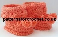 Booties for Best Free Baby Crochet Pattern