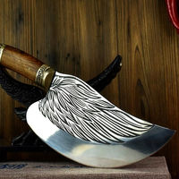 Handmade Chinese Cleaver Chef Knife Cuisine Tools ILS638.00