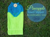 """Pineapple Towel Topper �€"""" Free Crochet Pattern �€"""" Review by Stitch11"""