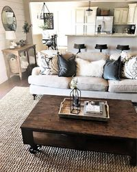 Marvelous Farmhouse Style Living Room Design Ideas by