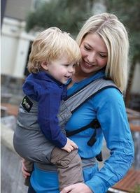 New Boba Air in Gray #babywearing perfect for #familytravel