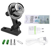 Hiseeu HSY-FH7E Mini 720P Night Vision Video IP Security Camera Wireless HD Baby Monitor