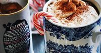 Hot chocolate is one of my all time favorite drinks this season. I love the classic hot chocolate but every now and then, it's good to go for a healthier recipe