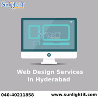Get the best web designs with sunlight IT which can help you grow your business by giving attractive web designs that suites according to your personal and business needs. Web designing requires many different skills and creativity for designing web graph...