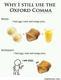 The Oxford comma comic