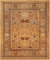 An antique Indian Amritsar Rug