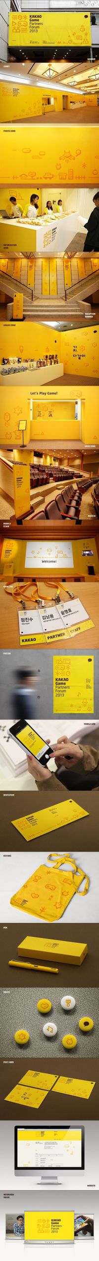 KAKAO Game Partners Forum Brand eXperience Design on Branding Served