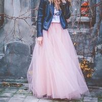 Price: $26.65 | Product: Spring Fashion Women's Lace Princess Fairy Style 4 layers Voile Tulle Skirts | Visit our online store https://ladiesgents.ca