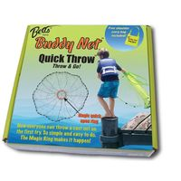 Betts Buddy Quick Throw Net 4 3-8 mesh Chartreuse $38.09