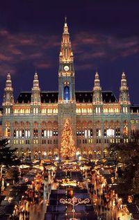 Vienna, we flew in here last October and took a 9 day Romantic River cruise up the Danube to Nuremberg - magical