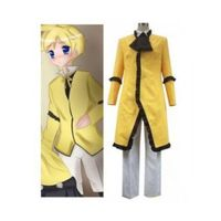 Vocaloid 1 Manservant Yellow Cosplay Costume