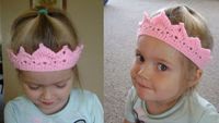 Free Toddler Princess Crown Pattern...