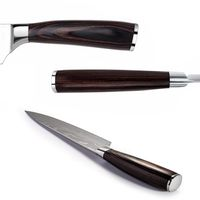 Chef Knife 8 inch Professional Kitchen Knives Stainless Steel Cooking Tools Pakka Wood Handle $45.50