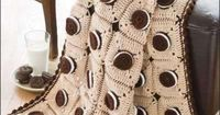 These Oreo Cookie Crotchet Patterns Will Make You Yearn for an Oreo trendhunter.com
