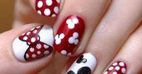 16 Cute and Easy Polka Dot Nail Designs