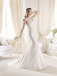 Mermaid off the shoulder sweep train wedding dresses