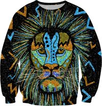 Intense Lion Sweatshirt $59.95