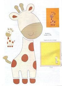 templates for felt giraff/ zebra, elephant