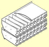 Horizontal Stackable Rack Plans