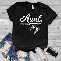 Aunt Since 2018 Short-Sleeve Unisex T-Shirt $19.99