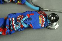 Stethoscope Cover - Marvel Avengers Blue $7.99