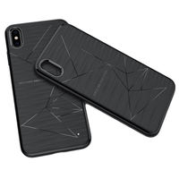 Nillkin Magic Magnetic Adsorption Shockproof Soft TPU Back Cover Protective Case for iPhone XS MAX