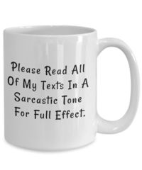 Sarcastic tone dirty rude vulgar white ceramic coffee mug gag gift| batchelor party |batchelorette party | $15.95